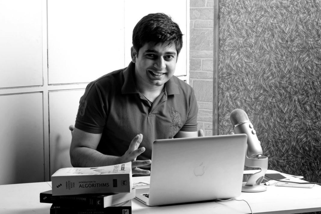A web developer in India